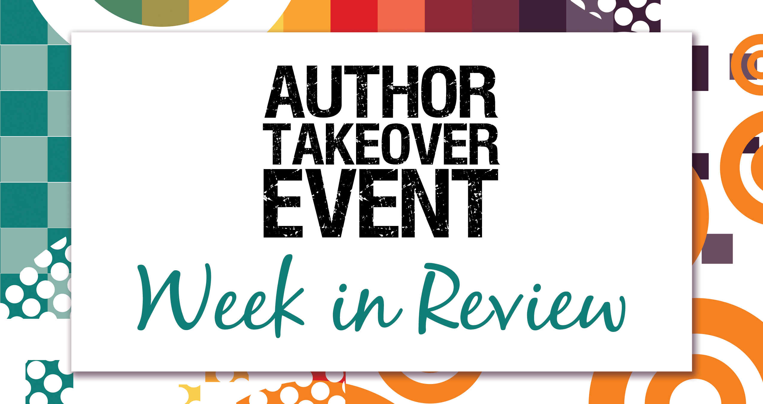 Author-Takeover---Week-in-Review